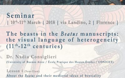"SEMINAR: ""THE BEASTS IN THE BEATUS MANUSCRIPTS: THE VISUAL LANGUAGE OF HETEROGENEITY"""